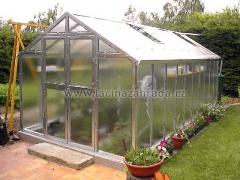 VARIANT J-X prodloužení skleníku, prosklení - sklo HELIOS