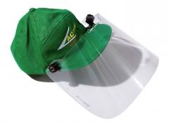 Ochranný štít plexi + čepice