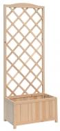 Dřevěný truhlík se stěnou Verdemax 8109
