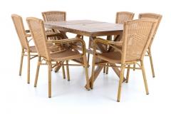 AXEL SET 6 AL - stolová sestava