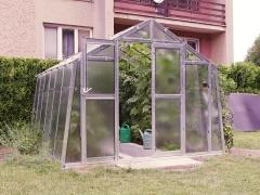 LIMES VARIANT K 5 pozinkovaný skleník, prosklení - sklo HELIOS