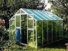 LIMES VARIANT J 3 pozinkovaný skleník, prosklení - sklo HELIOS