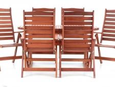 Dřevěný zahradní nábytek ISTANBUL SET 6