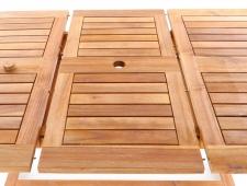 Dřevěný zahradní nábytek KING VeGA 6 stolová sestava