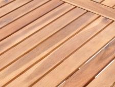 Dřevěná skládací stolová sestava WEEKEND 6