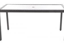 Kovový stůl VALENCIA