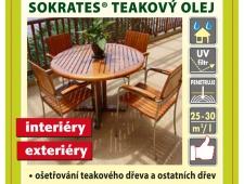 Teak olej V-Garden Sokrates 0,75 l