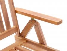 Dřevěný zahradní nábytek LEADER SET 6 stolová sestava