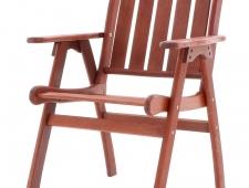 MERANTI CHICAGO SET 6 dřevěný zahradní nábytek